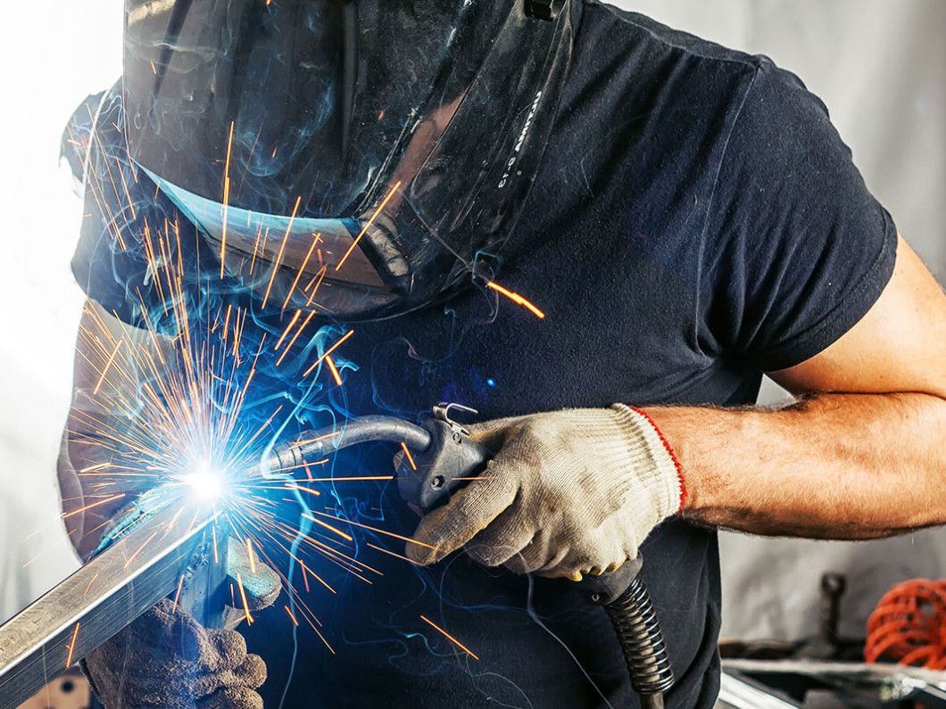 Restore damaged metal with our welding repair services